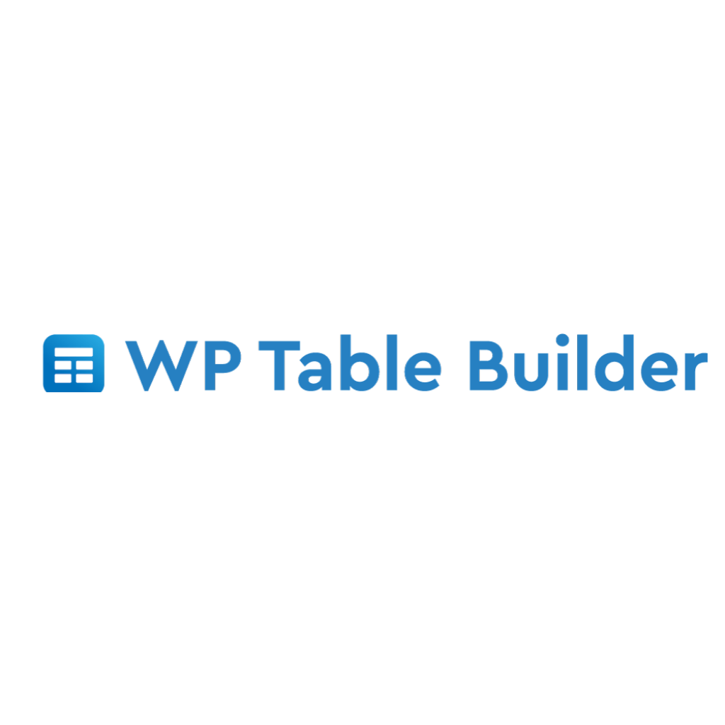 wp table builder 表格外掛